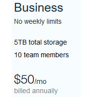Business Vimeo Plan For $50