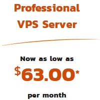 Buy Now Professional VPS Server Plan