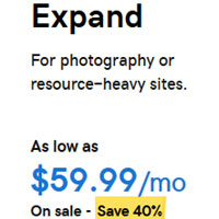 Web Hosting Plan For Photography Or Resource-Heavy Sites.