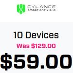 Save 54% On Cylance Smart Antivirus With 30 Days Money Back Guarantee